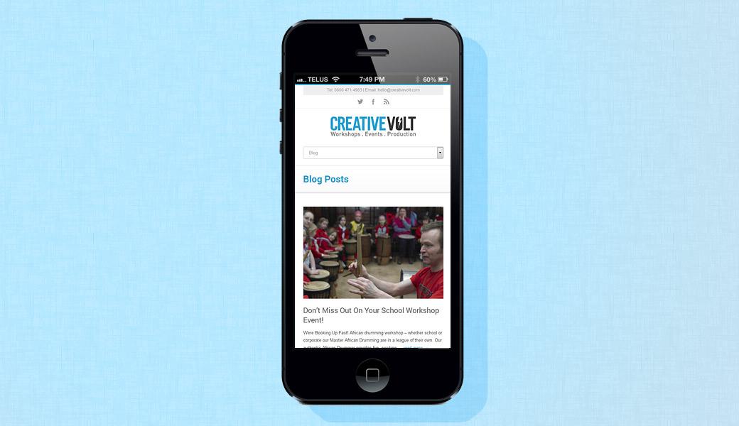 cv-mobile-site